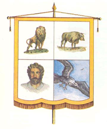 Four Beasts Around Throne of God