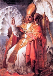 One Pope: Portrait of Pope Gregorius XVI (Wikimedia Commons)