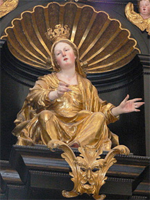 queen of heaven- Mary worship (Wolfgang Sauber, Wikimedia Commons)