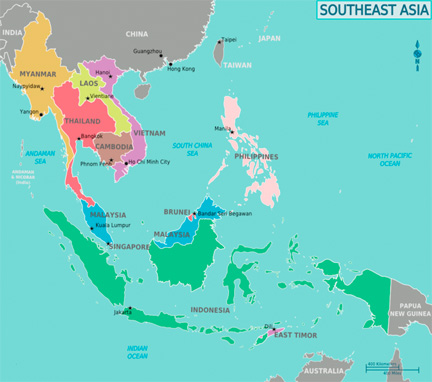 Southeast Asia, Wikimedia Commons