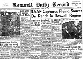 Roswell 1947 (Wikimedia Commons)