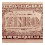 In Materialism We Trusted