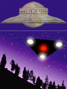 UFO Design Progression...