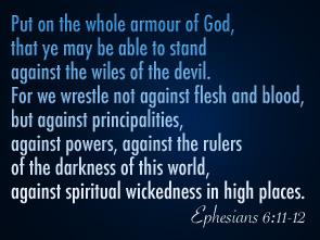 Ephesians 6-11-12