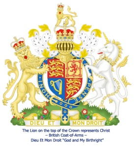 Why did THEY remove the Top Lion on their Coat of Arms?