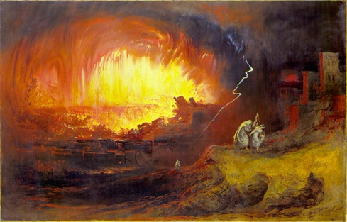 The Destruction of Sodom and Gomorrah (Wikimedia Commons).