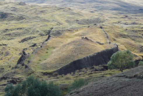 """Noah's Ark found on Mt. Ararat, Turkey. """"Now then shall the angels labour at the trees; but when they proceed to this, I will put my hand upon it, and preserve it (Noah's ark was preserved) – Enoch 66:2."""""""