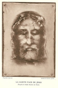 1940 Edition Print of Face of the Shroud (Wikimedia Commons)