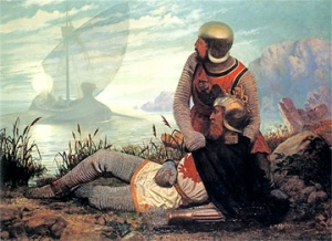 The Death of King Arthur (Wikimedia Commons)