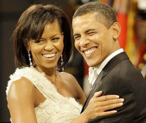 Advocates Barack and Michelle Obama