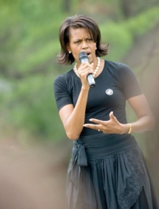 Michelle Obama Campaigning
