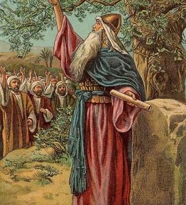 Joshua Renews Covenant with Israel