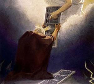 Moses Receives Commandments
