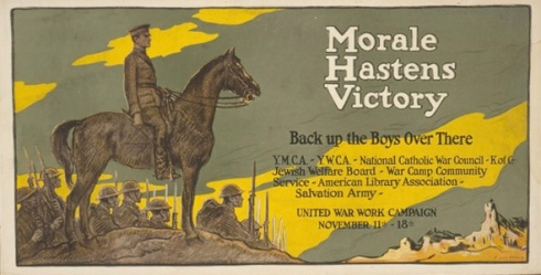 "A ""Committee"" Supported Poster, 1918."