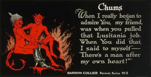 1918 Art, Devils and Lusitania