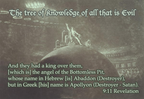 Lucifer-Satan, The Tree of Knowledge of Evil