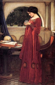 The Crystal Ball, John William Waterhouse