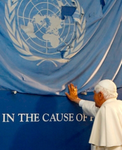The UN-POPE: In the cause of Pater?