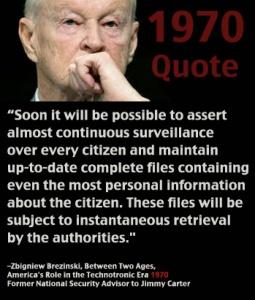 Brezinski Quote on Surveillance