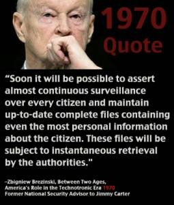 Brezinski Quote on Surveillance