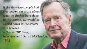Bush Quote on Deeds