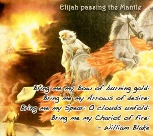 Elijah Passing The Mantel