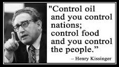 Henry Kissinger - Control Oil