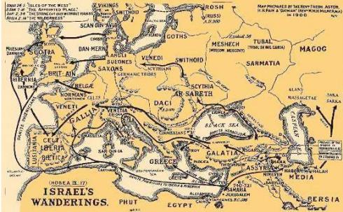 Israels Wanderings
