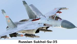 Russian Sukhoi-Su-35