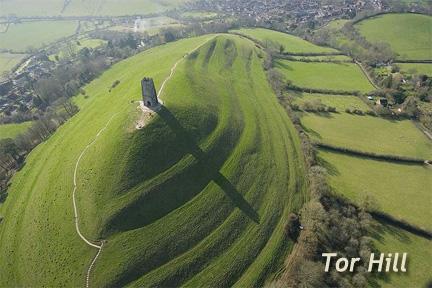 Tor Hill (Torah Hill), Glastonbury, England