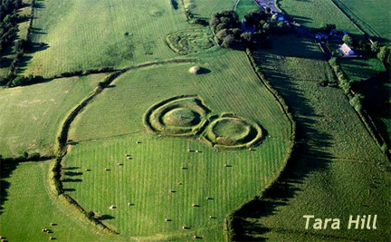 Tara Hill, County Meath, Ireland