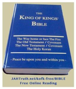 King of kings' Bible Reading