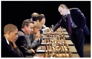 East:West Chess Game of War
