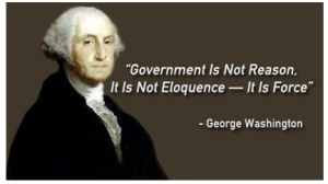 George Washington Quote on Government