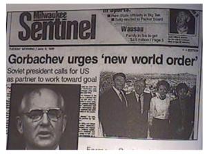 Gorbachev urges NWO