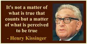 Kissinger Quote of Truth