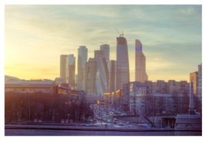 Moscow International Business Center, by Author Oscar W. Rasson