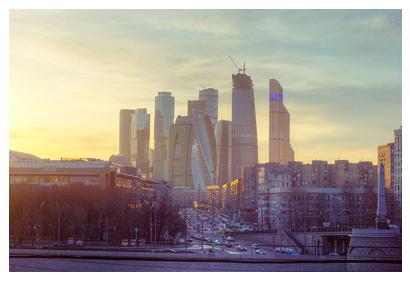Moscow International Business Center, by Author Oscar W. Rasson