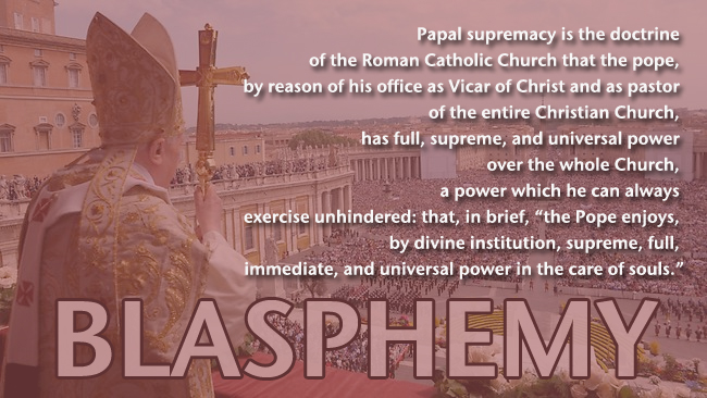 Papacy over Rome-World