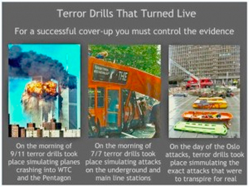 Terror Drills That Turned Live