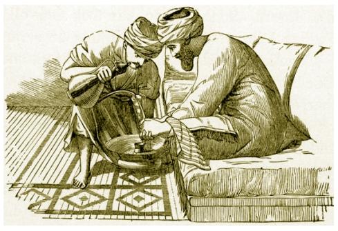 The Washing of Hands
