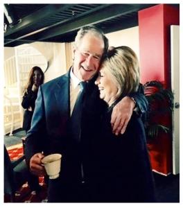 Bush & Hillary