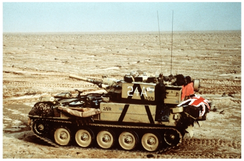 British Scorpion Tank, 1991 Iraq