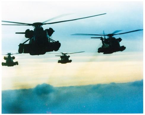 Helicopters- Locusts, Desert Storm, Revelation 9