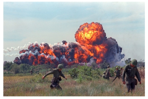 Napalm, Vietnam War, Hurt not the grass, Revelation 9.