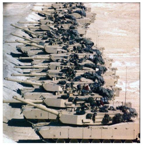 Tanks, Desert Storm