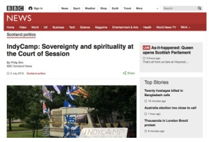 BBC IndyCamp Sovereignty and spirituality at Court of Session