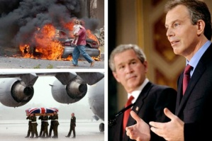 Blair to Bush: I will be with you whatever; even Hell-fire?