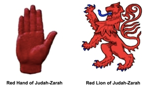 Red Hand - Lion of Judah-Zarah